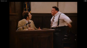 NEWMAN COMPOSING HIMSELF DURING PERJURY