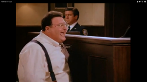 NEWMAN IS NOT HAPPY IN COURT