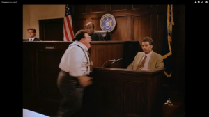 NEWMAN LOSING HIS COOL IN COURT