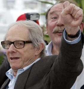 Director Loach attends a photocall for the film The Angel's Share in competition at the 65th Cannes Film Festival,