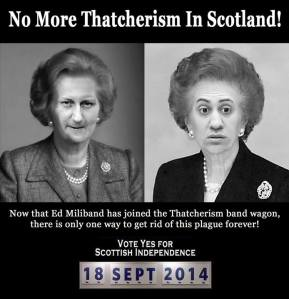 "Fuck the ""Better Together"" Thatcherite dictatorship"