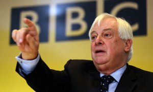 Chris Patten holds his hands up to accept he's in the pocket of the CBI