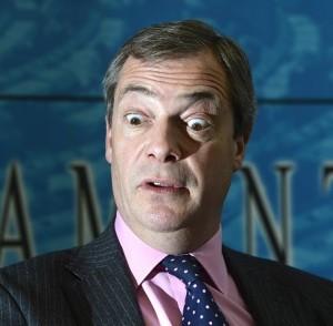 Nigel Farage is a Tory Frankenstein monster.