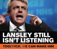 LANSLEY STILL IS NOT LISTENING