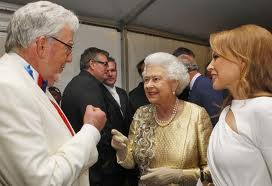 rolf harris the queen laughing