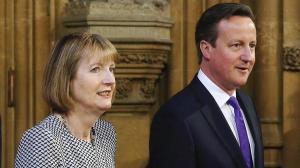 Harriet Harman and David Cameron joined at the hip on MI5 at Kincora