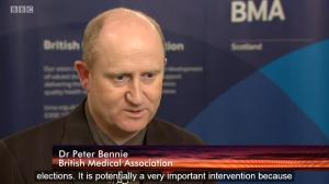 Dr Bennie Scotland 2015 BBC Scotland BMA