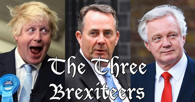 THE THREE BREXITEERS  twats