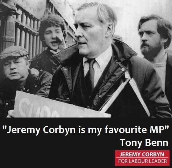 JEREMY CORBYN TONY BENN FOR BLOG